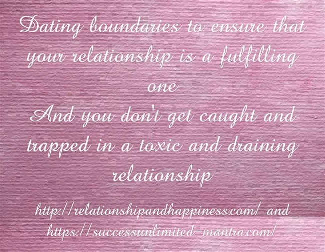Dating-boundaries-to follow to avoid toxic and people with psychological issues